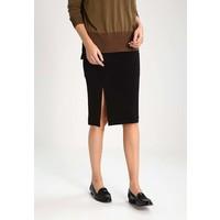 Calvin Klein Jeans KIERA Spódnica ołówkowa black C1821B017