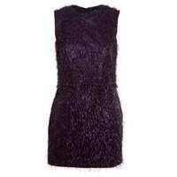 Acephala Sukienka mini z nitek fioletowa
