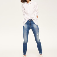 Reserved Jeansy SLIM FIT PQ480-55J