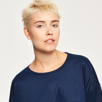 Reserved Gładka koszulka QU307-59X