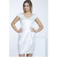 Monnari Sukienka w srebrne plamki SUKIMP0-16L-DRE1400-KM00D601-R36