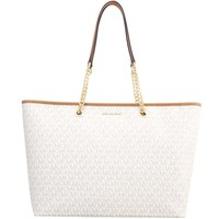 MICHAEL Michael Kors JET SET TRAVEL Torebka vanilla MK151H0CO