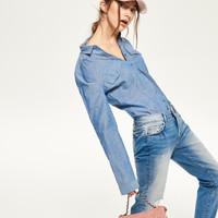 Reserved Koszula z kieszeniami QN592-50X