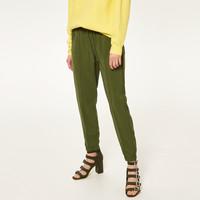 Reserved Spodnie w kolorze khaki QV301-87X