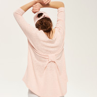 Reserved Sweter z kokardą z tyłu QH356-03X