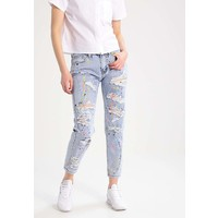 Glamorous Petite Jeansy Relaxed fit pastel mid blue denim GLB21N006