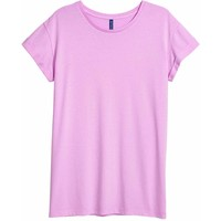 H&M Długi T-shirt 0571436004 Fioletowy