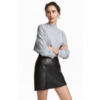 H&M Sweter z wełny merynosowej 0522347001 Szary