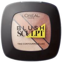 L'Oréal Paris Róż do policzków Blush Sculpt Trio Contouring Blush 102 100-AKD07G