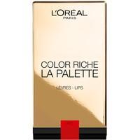 L'Oréal Paris Paletka pomadek do ust Color Riche La Palette Red 6x1g 100-AKD07N