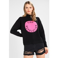 Topshop VOTE FOR LOVE Sweter black TP721I0EM
