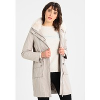 Mint Velvet COLLAR LIGHTWEIGHT Płaszcz zimowy chalk MIM21U00D