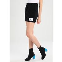Calvin Klein Jeans KILDRI TRUE ICON Spódnica trapezowa black / bright white C1821B01K
