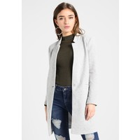 Vero Moda Petite VMJUNE LONG Krótki płaszcz medium gray melange VM021G00J