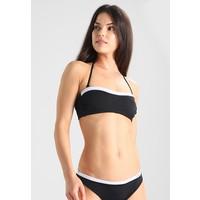 Calvin Klein Swimwear BANDEAU Góra od bikini black C1181J001