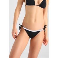 Calvin Klein Swimwear STRING SIDE TIE Dół od bikini black C1181I001
