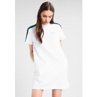 Calvin Klein Jeans SHORT SLEEVE TRACK DRESS Sukienka letnia bright white C1821C02I