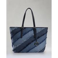 Monnari Jeansowa torba z przywieszką TORIMP0-18W-BAG6420-K013D000-R00