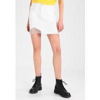 Noisy May NMNICOLE Spódnica jeansowa bright white NM321B03P