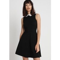 Dorothy Perkins COLLAR DRESS Sukienka z dżerseju black DP521C1KM
