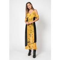 Religion POISE Długa sukienka yellow/black R1921C03R