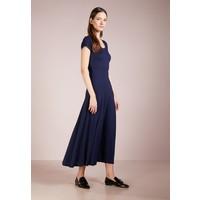 Lauren Ralph Lauren Długa sukienka navy L4221C0EC