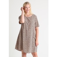 Glamorous Curve DRESS Sukienka letnia peach/navy GLA21C041
