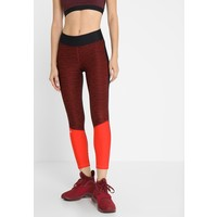 Under Armour JAC ANKLE CROP Legginsy black/radio red/metallic silver UN241E08P