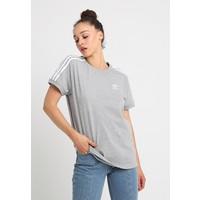 adidas Originals 3 STRIPES TEE T-shirt z nadrukiem medium grey heather AD121D0HT
