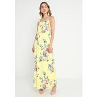 Vila VITETRI DRESS Długa sukienka yellow iris V1021C13V