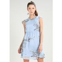 Vero Moda VMSATINA CAP DRESS Sukienka letnia cerulean VE121C1EA