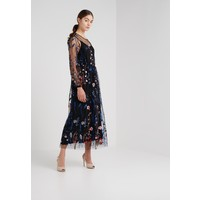 Bruuns Bazaar TULLA FILIS DRESS Długa sukienka embroded mesh BR321C02V