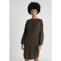 New Look CASH Sukienka dzianinowa khaki NL021C0WB