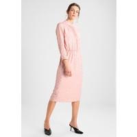 YASMOONY DRESS Sukienka koktajlowa rose smoke/gold foil Y0121C0EJ