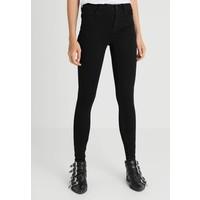 Vero Moda Tall VMSEVEN SHAPE UP TALL Jeansy Skinny Fit black VEB21N00K