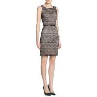 Mango Koronkowa sukienka na ramiączkach 21030062