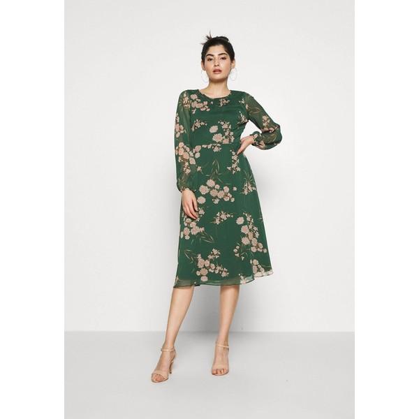 Wallis Petite DALIA ORIENTAL DRESS Sukienka letnia green WP021C07I