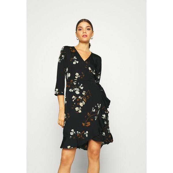 Vero Moda VMHENNA Sukienka letnia black VE121C22R