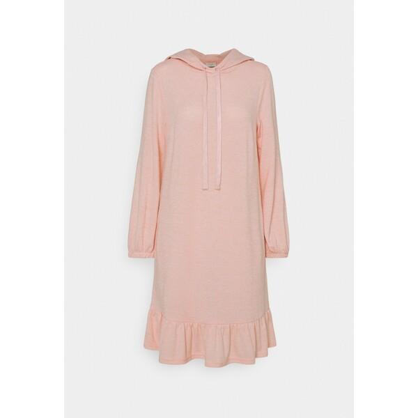 Freequent FQLIVANA Sukienka dzianinowa silver/pink F0821C05K