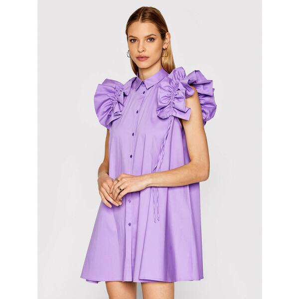 Imperial Sukienka koszulowa AA5TBBE Fioletowy Regular Fit