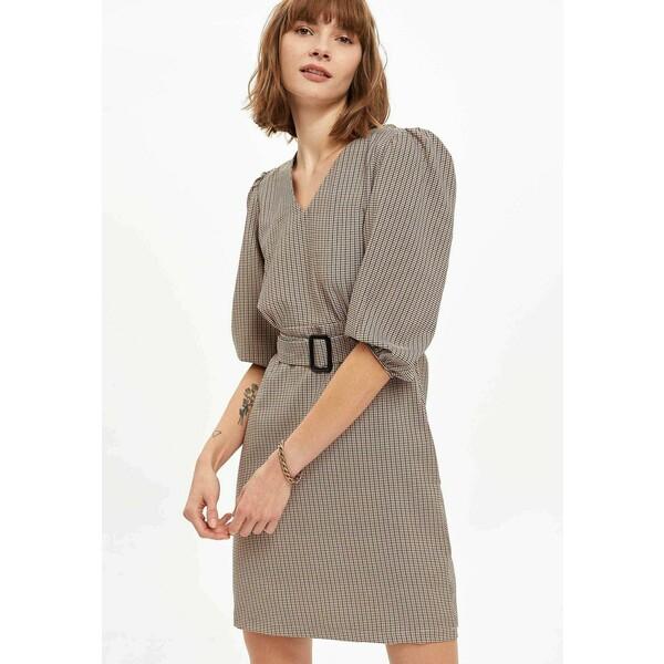 DeFacto Sukienka letnia brown DEZ21C0A8