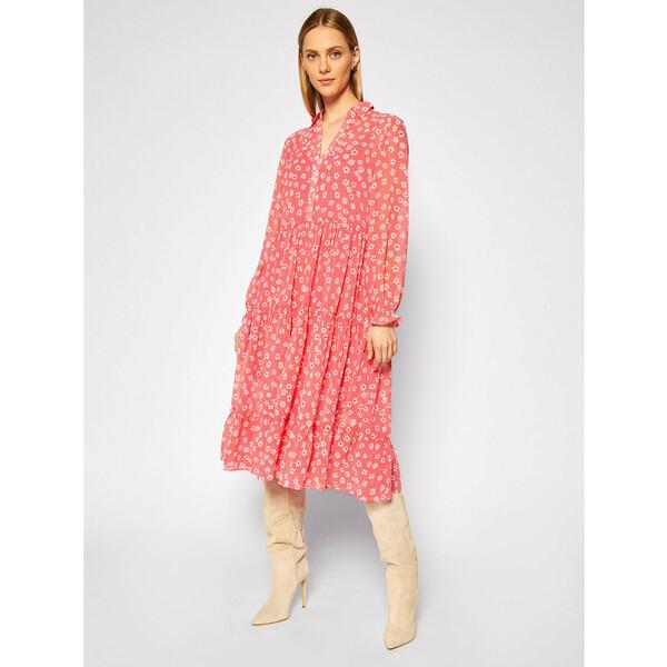 Tommy Jeans Sukienka letnia Tjw Floral DW0DW08450 Różowy Regular Fit