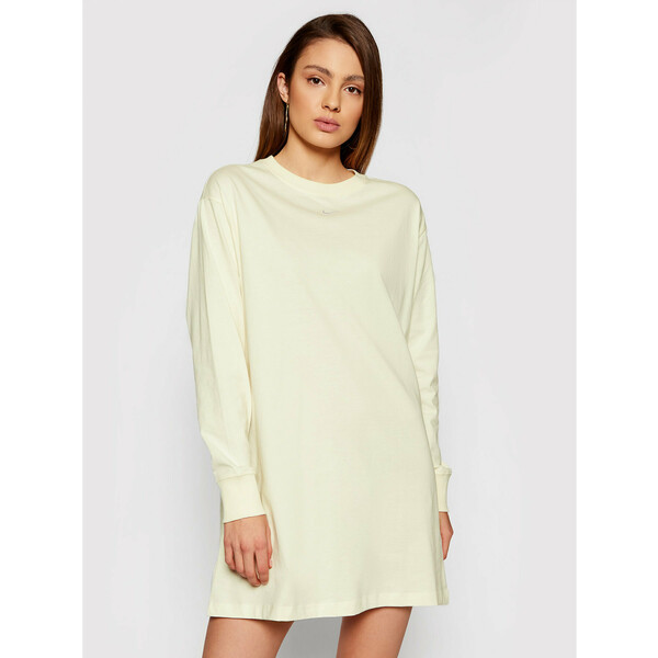 Nike Sukienka codzienna Nsw Essential CU6509 Żółty Loose Fit
