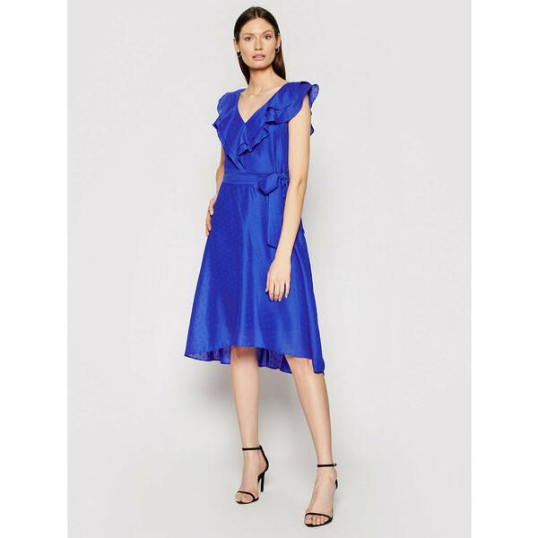 DKNY Sukienka koktajlowa DD0DM414 Granatowy Regular Fit