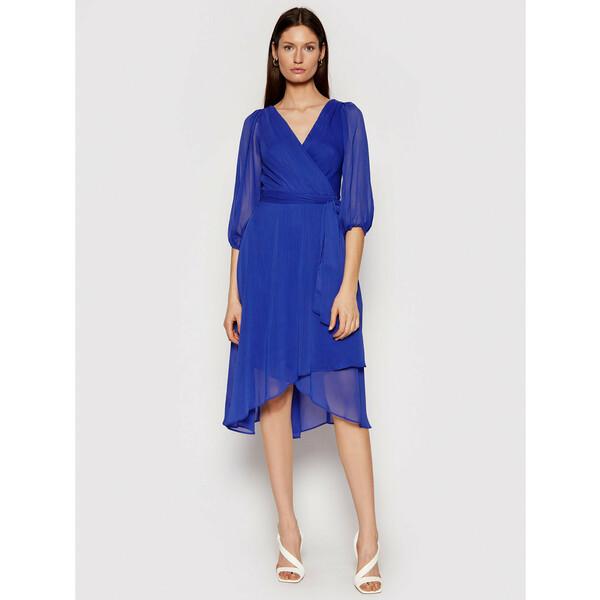 DKNY Sukienka koktajlowa DD0DI570 Granatowy Regular Fit