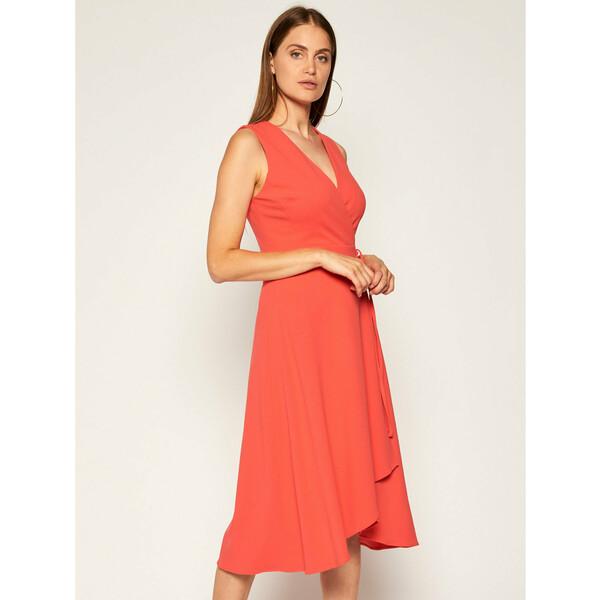 DKNY Sukienka koktajlowa DD0C1148 Czerwony Regular Fit
