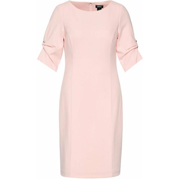 DKNY Sukienka koktajlowa DD1B1136 Różowy Regular Fit