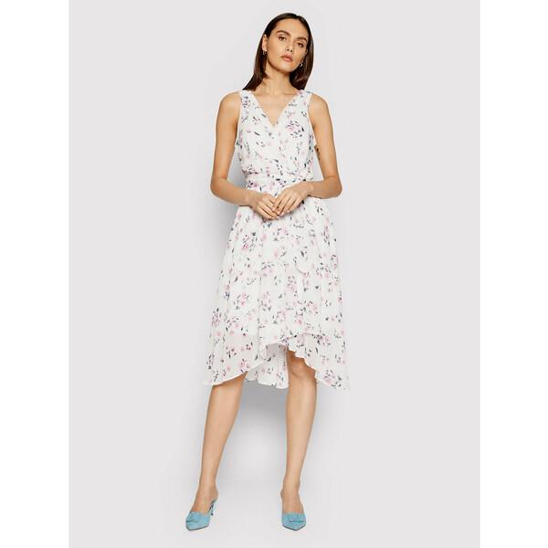 DKNY Sukienka codzienna DD0BY576 Biały Regular Fit