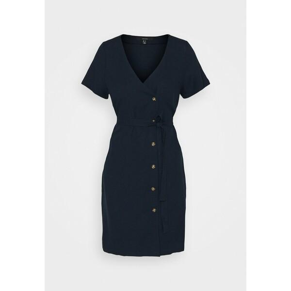 Vero Moda Sukienka koszulowa navy blazer VE121C2QK