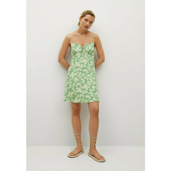 Mango Sukienka letnia groen M9121C54A